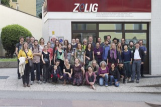 Student exchange at ZeLIG with students from India