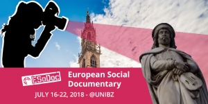 ESoDoc Session 2 in Bolzano: public lectures and screening